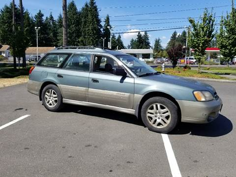2000 Subaru Outback for sale at Tacoma Auto Exchange in Puyallup WA
