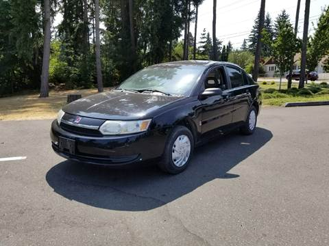 2004 Saturn Ion for sale at Tacoma Auto Exchange in Puyallup WA