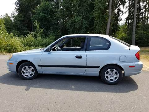 2003 Hyundai Accent for sale at Tacoma Auto Exchange in Puyallup WA