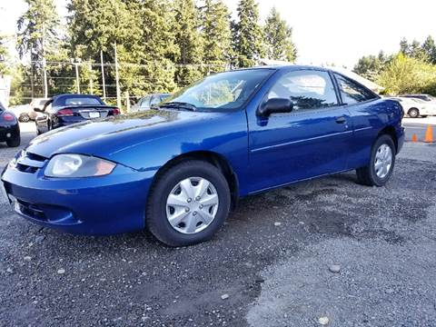 2003 Chevrolet Cavalier for sale at Tacoma Auto Exchange in Puyallup WA