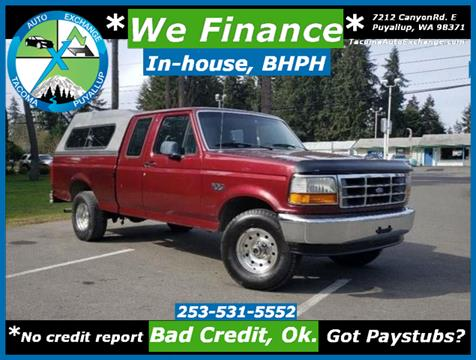1996 Ford F-150 for sale in Puyallup, WA