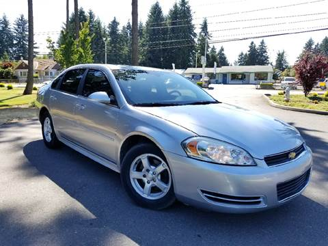 2010 Chevrolet Impala for sale at Tacoma Auto Exchange in Puyallup WA