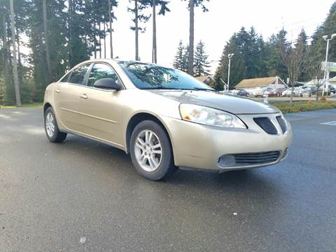 2006 Pontiac G6 for sale in Puyallup, WA
