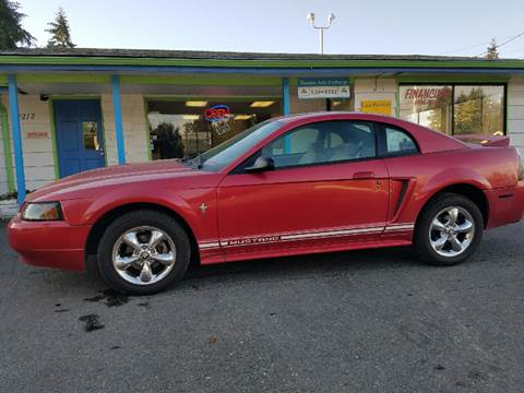 2000 Ford Mustang for sale at Tacoma Auto Exchange in Puyallup WA