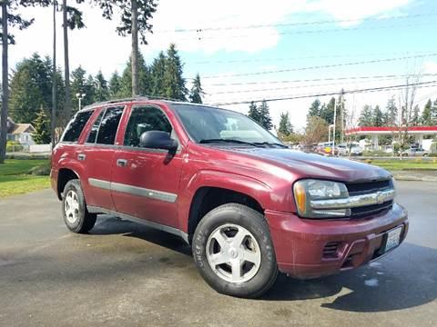 2004 Chevrolet TrailBlazer for sale in Puyallup, WA