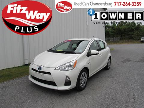 2013 Toyota Prius c for sale in Chambersburg, PA