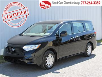 2015 Nissan Quest for sale in Chambersburg, PA
