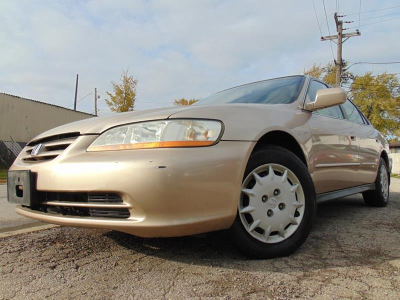 2001 Honda Accord Lx 4dr Sedan