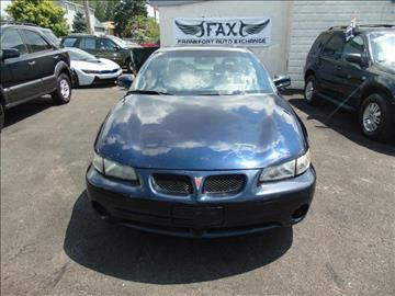 2002 Pontiac Grand Prix for sale in Calumet Park, IL