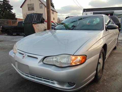 2002 Chevrolet Monte Carlo for sale in Calumet Park, IL