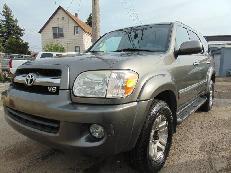 2005 Toyota Sequoia Limited 4wd 4dr Suv