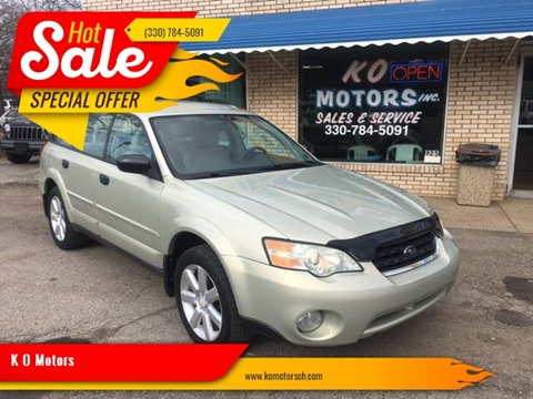 2006 Subaru Outback for sale at K O Motors in Akron OH