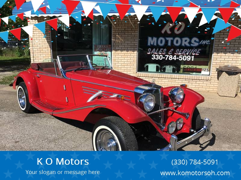 1936 Mercedes Benz R Class For Sale At K O Motors In Akron OH