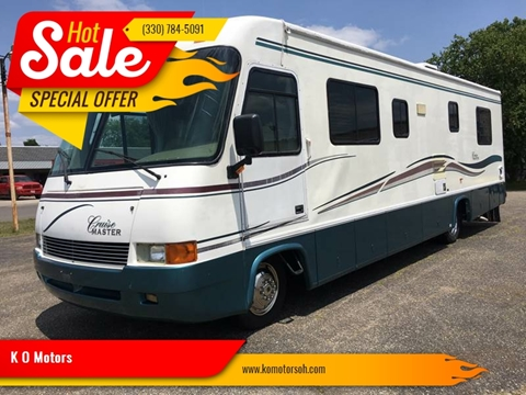 1998 CRUISEMASTER CRUISE MASTER for sale at K O Motors in Akron OH