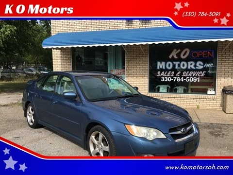 2009 Subaru Legacy for sale at K O Motors in Akron OH