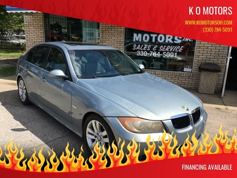 2007 BMW 3 Series for sale at K O Motors in Akron OH