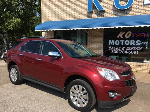 2010 Chevrolet Equinox for sale at K O Motors in Akron OH
