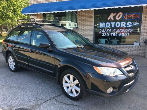 2008 Subaru Outback for sale at K O Motors in Akron OH
