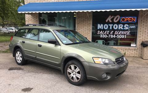 2005 Subaru Outback for sale at K O Motors in Akron OH