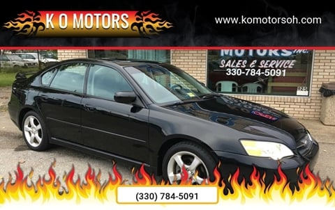 2006 Subaru Legacy for sale at K O Motors in Akron OH
