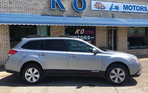 2011 Subaru Outback for sale at K O Motors in Akron OH
