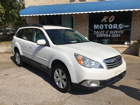 2012 Subaru Outback for sale at K O Motors in Akron OH