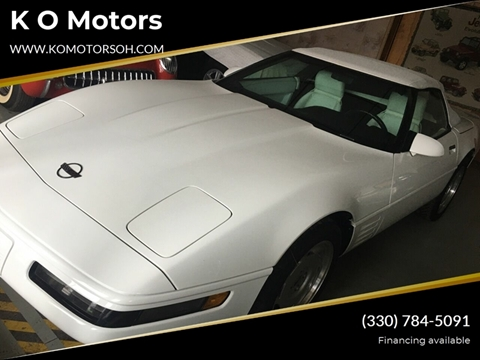 1992 Chevrolet Corvette for sale at K O Motors in Akron OH