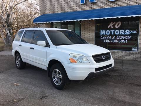 2004 Honda Pilot for sale at K O Motors in Akron OH