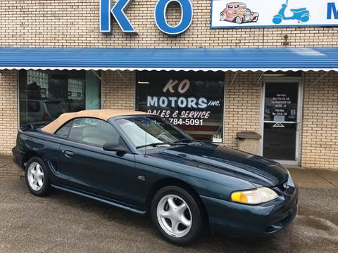 1995 Ford Mustang GT for sale at K O Motors in Akron OH