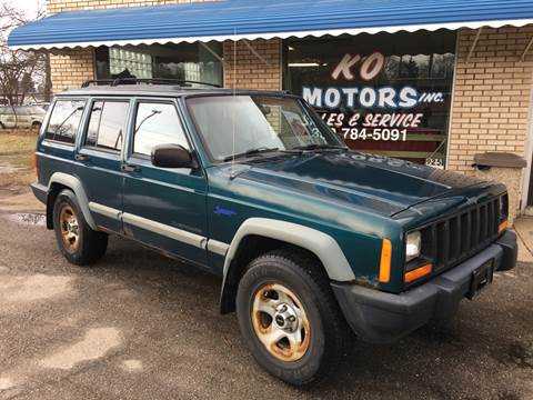 1997 Jeep Cherokee Sport for sale at K O Motors in Akron OH