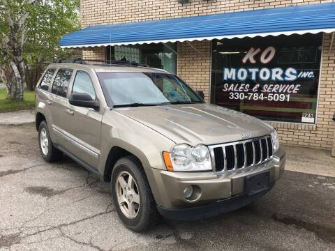 2006 Jeep Grand Cherokee for sale at K O Motors in Akron OH