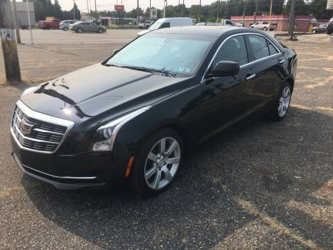 2016 Cadillac ATS for sale at K O Motors in Akron OH