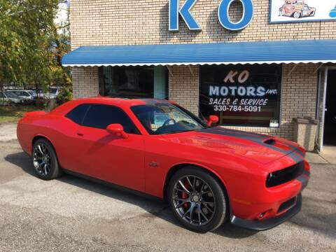 2016 Dodge Challenger for sale at K O Motors in Akron OH