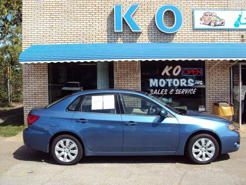 2009 Subaru Impreza for sale at K O Motors in Akron OH