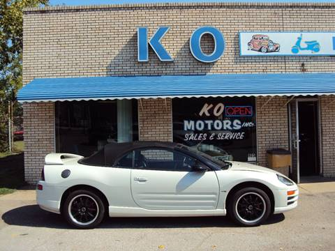 2001 Mitsubishi Eclipse Spyder for sale in Akron, OH