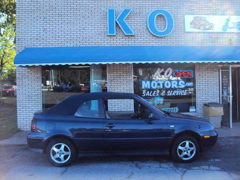 2000 Volkswagen Cabrio for sale in Akron, OH