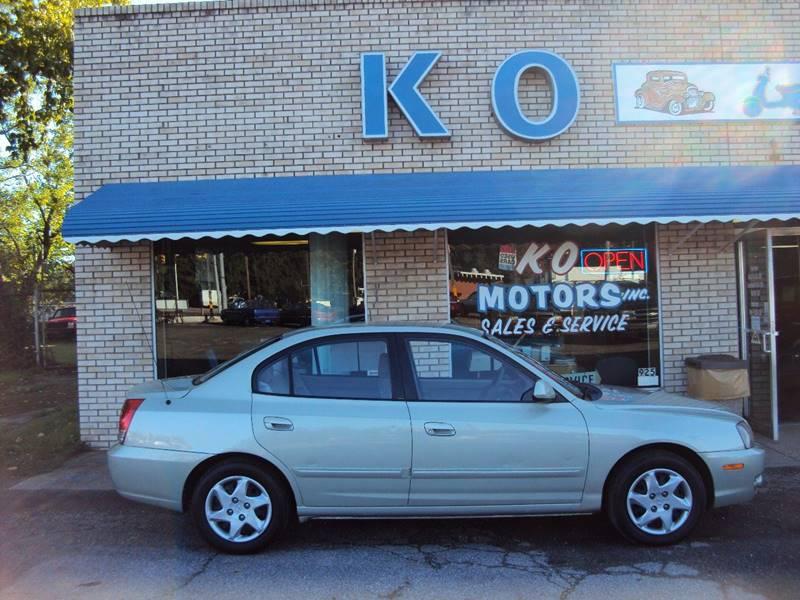 2004 Hyundai Elantra for sale at K O Motors in Akron OH