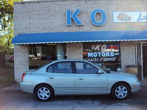 2004 Hyundai Elantra for sale at K O Motors in Akron OH