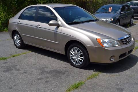 2006 Kia Spectra for sale at Victory Auto Sales in Randleman NC