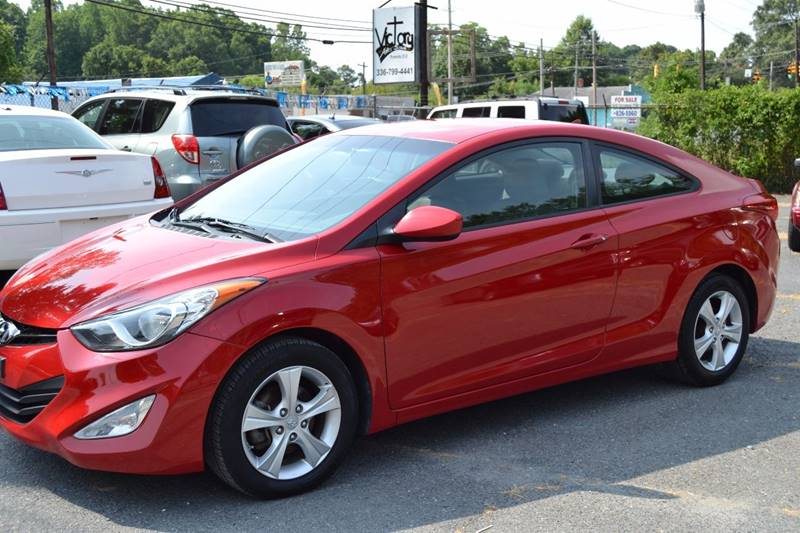 2013 hyundai elantra coupe in randleman nc victory auto sales. Black Bedroom Furniture Sets. Home Design Ideas