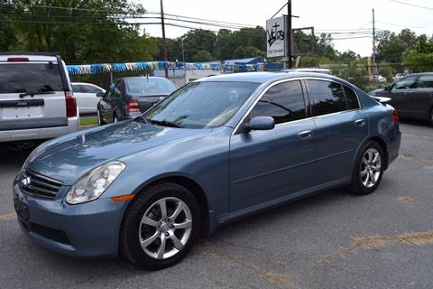 2005 Infiniti G35 for sale at Victory Auto Sales in Randleman NC