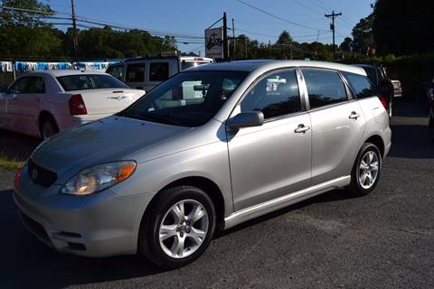 2003 Toyota Matrix for sale at Victory Auto Sales in Randleman NC