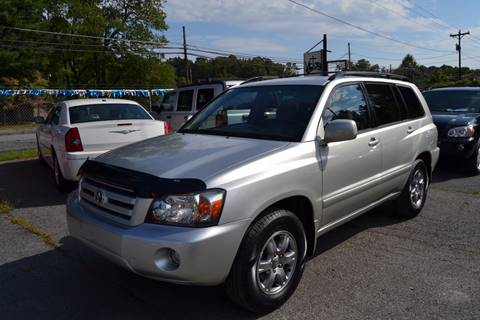 2005 Toyota Highlander for sale at Victory Auto Sales in Randleman NC