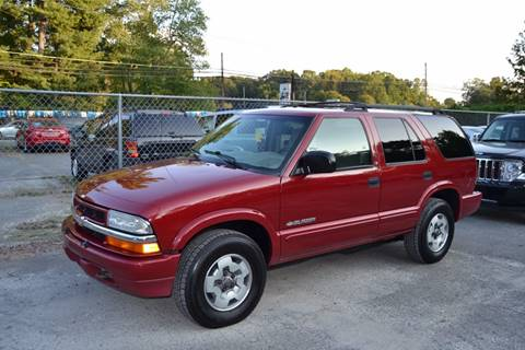 2002 Chevrolet Blazer for sale in Randleman, NC
