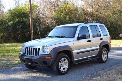 2004 Jeep Liberty for sale at Victory Auto Sales in Randleman NC