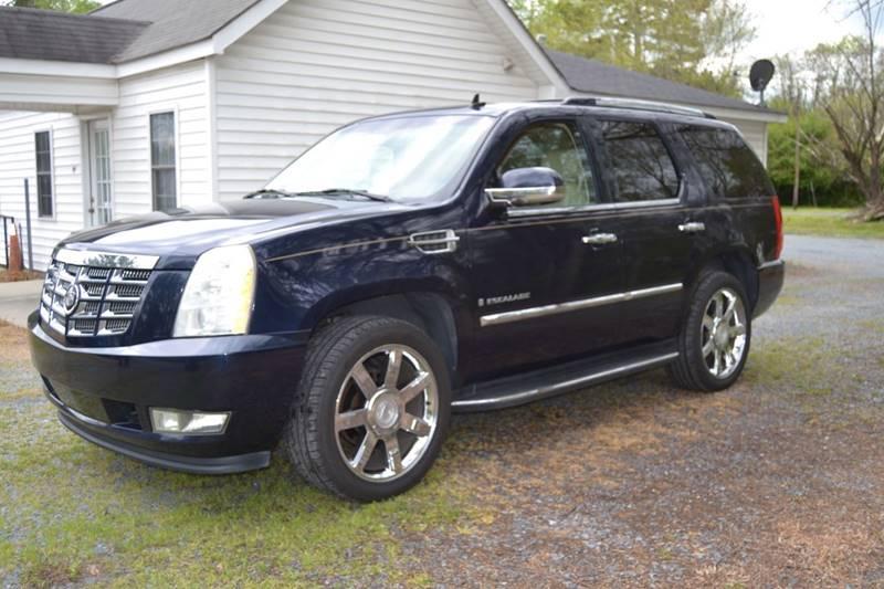 2008 Cadillac Escalade In Randleman Nc Victory Auto Sales