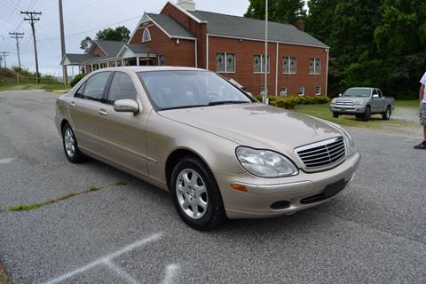 2002 Mercedes-Benz S-Class for sale at Victory Auto Sales in Randleman NC