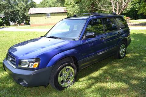 2003 Subaru Forester for sale at Victory Auto Sales in Randleman NC