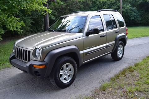 2003 Jeep Liberty for sale at Victory Auto Sales in Randleman NC
