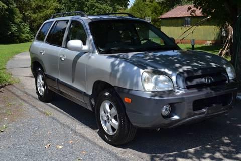 2005 Hyundai Santa Fe for sale at Victory Auto Sales in Randleman NC